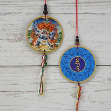 Colgante-amuleto coche/ventana Vajra Kilaya