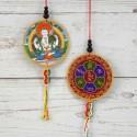 Colgante amuleto Buda Chenrezig