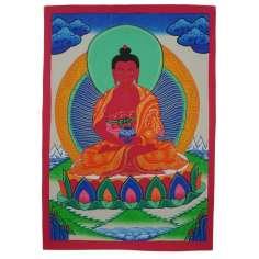 Pintura thangka Amitabha Buda