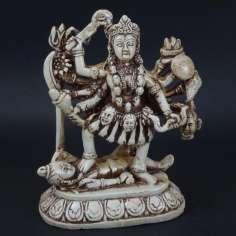 Figura de Kali bailando sobre Shiva 16 cm