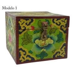 Caja de Maderatibetana 15 x 15 x12 cm