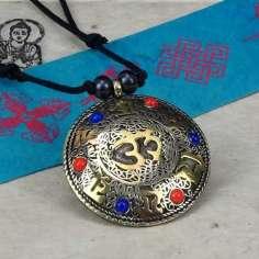 Colgante Tibetano con Mantras