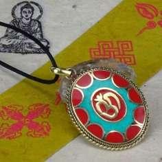 Colgante Tibetano OM
