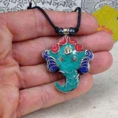 Colgante cabeza de Ganesh