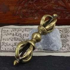Dorje Tibetano de bronce pequeño