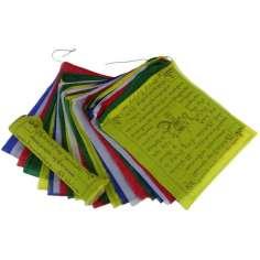Banderas Tibetanas 36 x 32 cm