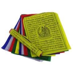 Bandera Tibetana de Oración 25 x 21 cm