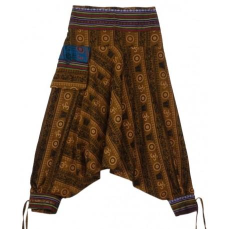 Pantalones Hippies estampado Hindi