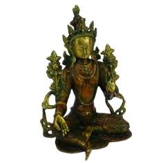 Figura Tara verde de Bronce 26 cm 2.7 kg