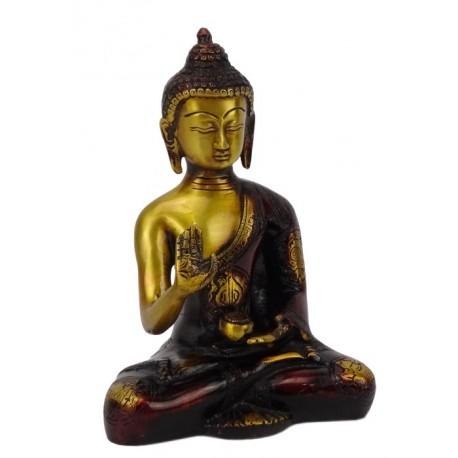 Buda Amoghasiddhide Bronce 20 cm kg