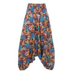 Pantalón bombacho estampado hippie