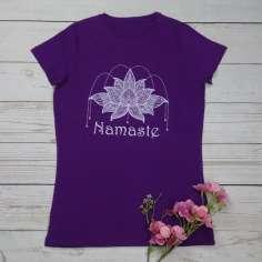 Camiseta Flor de Loto Namasté