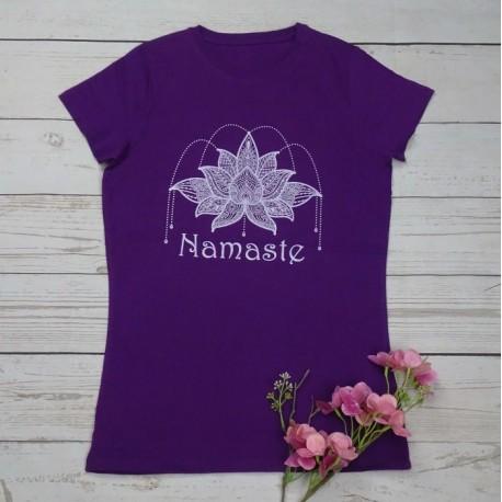 Camiseta Loto Namasté