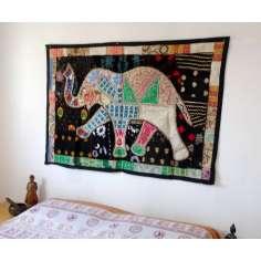 Tapiz elefante Patchwork