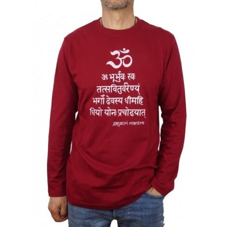 Camiseta Gayatri Mantra Unisex manga larga