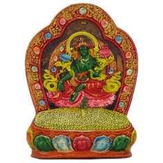 Tara Verde en Altar 21,7 x 15,9 cm