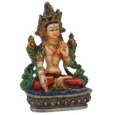 Figura de Tara Blanca hecha en Nepal