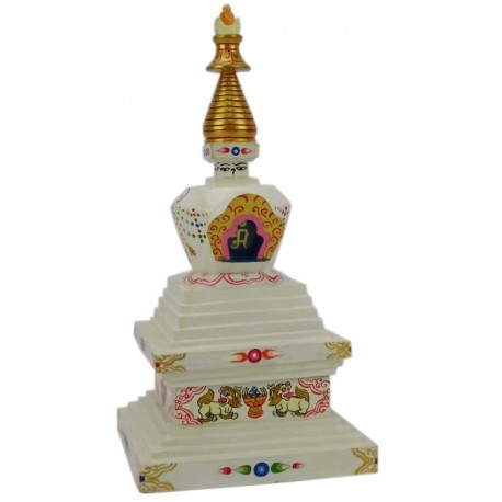 Estupa Budista de madera