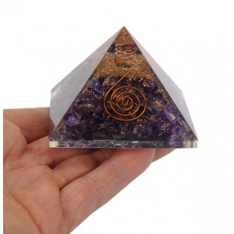 Piramide orginota Amatista 7 x 7 cm