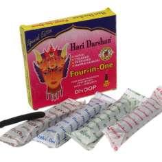 Incienso Hari Darshan 4 en 1