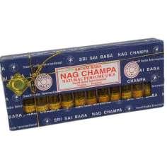 Pack de aceites perfumados Nag Champa