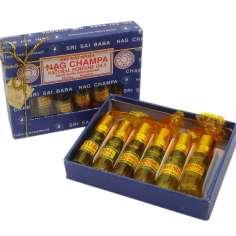 Pack de  6 aceites perfumados Nag Champa