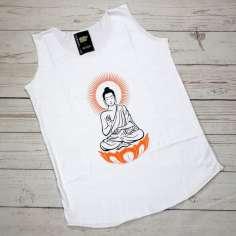 Camiseta Buda Meditando sin mangas Verano