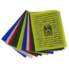 Bandera Tibetana 20 x 16 cm de algodón