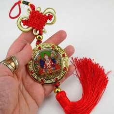 Amuletos Colgantes con  Buda / Tara Blanca