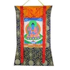 Thangka Buda de la Medicina