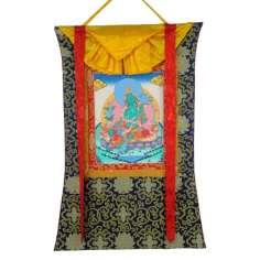 Thangka Budista Tara Verde