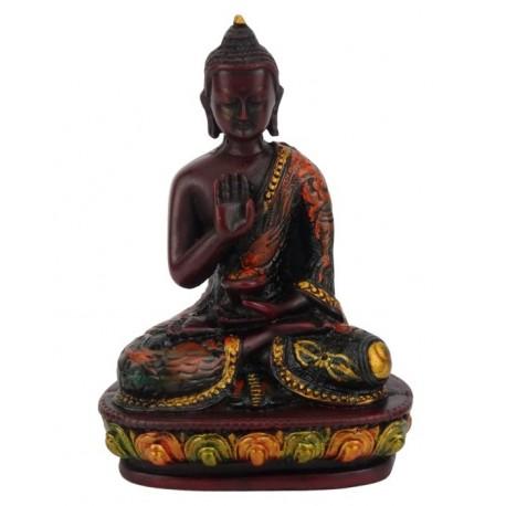 Figura de Buda Amoghasiddhi 14 cm pintada