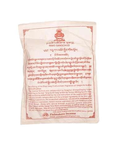 Incienso tibetano riwo sangchod