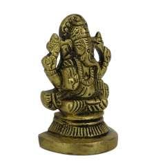 Mini Figura Ganesh  bronce 5 cm