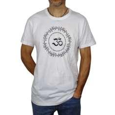 Camiseta Blanca manga corta Om Mni Pade Hum