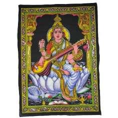 Tapiz Saraswati grande