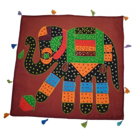 Funda de Cojín Grande Elefante 60 x 60 cm
