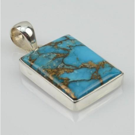 Colgante de plata con Cuperita 02T