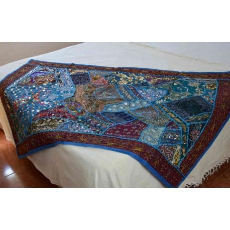 tapices patchword hechos en India de calidad