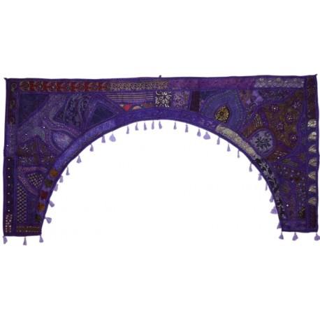 Torán Gigante violeta 200 cm de ancho