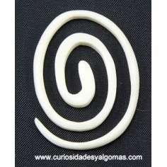 Pendiente de Hueso espiral dilatador
