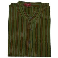 Camisas talla XXL de rayas hippies para hombre verano