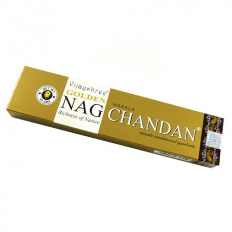 Incienso Golden Nag Chamdan