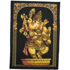 Tapiz Ganesh grande TPHG22 107 cm x 77 cm