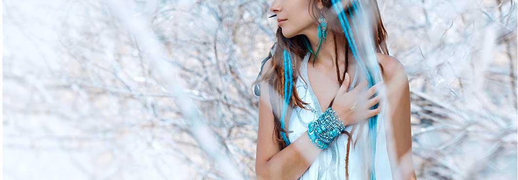 Moda y complementos hippies